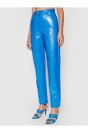 REMAIN Spodnie skórzane Renate RM369 Regular Fit