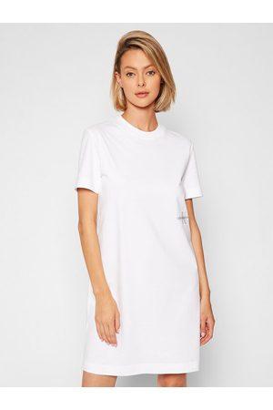 Calvin Klein Sukienka codzienna Essentials J20J216457 Regular Fit