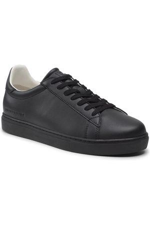 Armani Mężczyzna Buty casual - Sneakersy - XUX001 XV093 K001 Black/Black Ltr