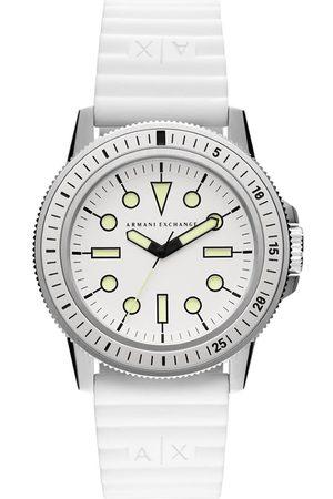Armani Mężczyzna Zegarki - Zegarek - Leonardo AX1850 White/Silver