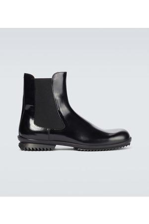 Maison Margiela Botki - Leather Chelsea boots