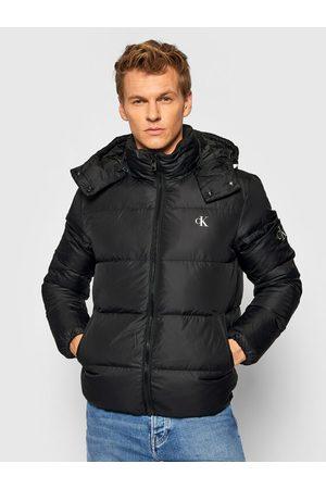 Calvin Klein Mężczyzna Kurtki jeansowe - Kurtka puchowa J30J318412 Regular Fit