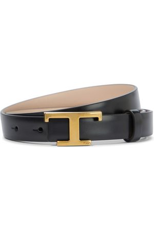 Tod's Reversible logo leather belt
