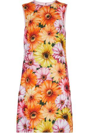 Dolce & Gabbana Kobieta Sukienki z nadrukiem - Floral minidress