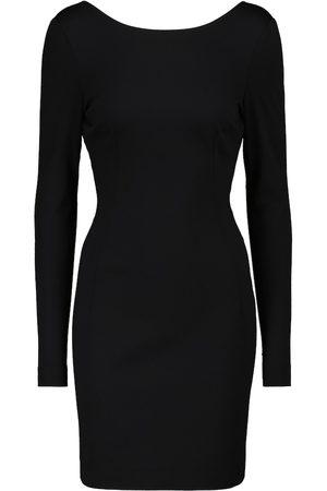 Dolce & Gabbana Open-back stretch-knit minidress
