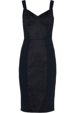 Dolce & Gabbana Kobieta Sukienki midi - Lace-paneled bustier dress