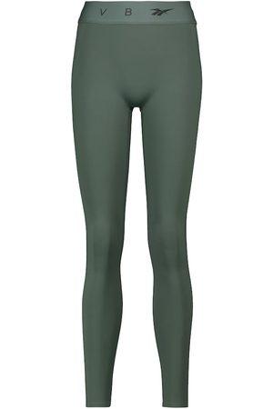 Reebok Logo mid-rise performance leggings