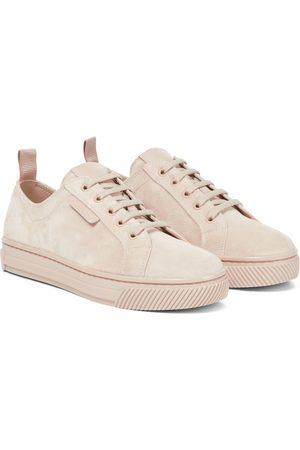 Gianvito Rossi Suede sneakers