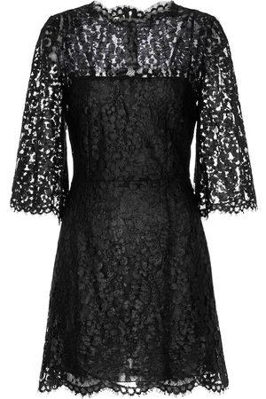 Dolce & Gabbana Kobieta Sukienki - Laminated lace minidress