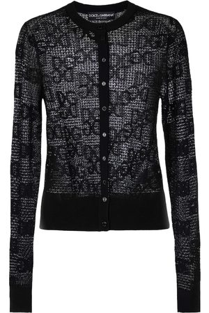 Dolce & Gabbana Monogram lace cardigan
