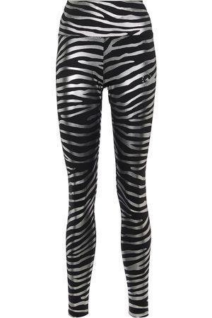 adidas Printed high-waisted leggings