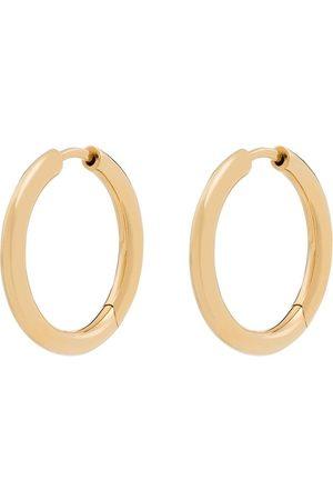 TOM WOOD Mężczyzna Kolczyki - 9K yellow Classic hoop earrings