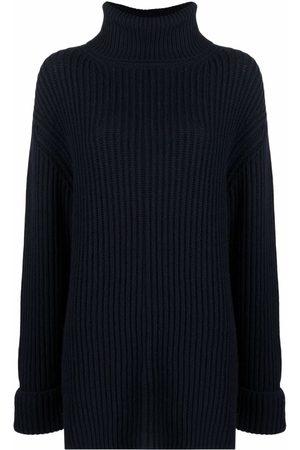 Filippa K Kobieta Swetry i Pulowery - Blue