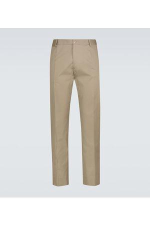 Dolce & Gabbana Chinosy - Stretch-cotton pants