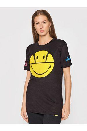 Ellesse Z krótkim rękawem - T-Shirt Unisex SMILEY Preasuro Tee SML13079 Regular Fit