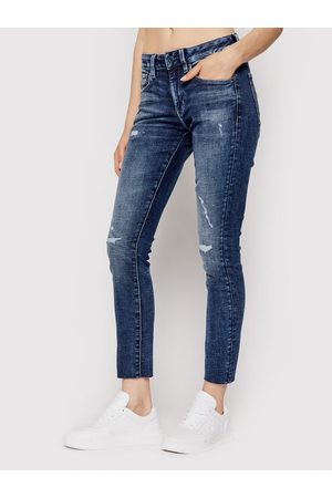 G-Star Jeansy Heavy Elto Pure D20059-C051-C668 Granatowy Skinny Fit