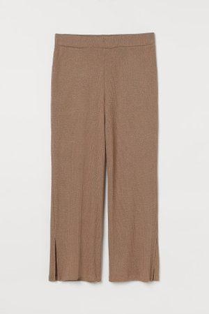 H&M + Dzianinowe spodnie