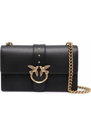 Pinko Kobieta Torebki na ramię - Leather Love Icon crossbody bag