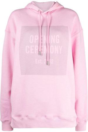 Opening Ceremony Kobieta Bluzy z kapturem - Pink