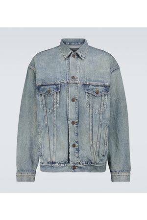 Balenciaga Large-fit denim jacket