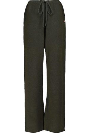 EXTREME CASHMERE N°142 Run cashmere-blend sweatpants