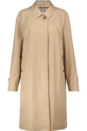 Burberry Camden cotton gabardine car coat
