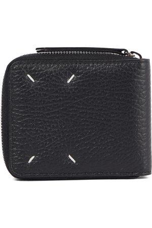 Maison Margiela Kobieta Portmonetki i Portfele - Four Stitches leather wallet