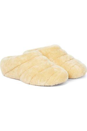 Proenza Schouler Rondo shearling slippers