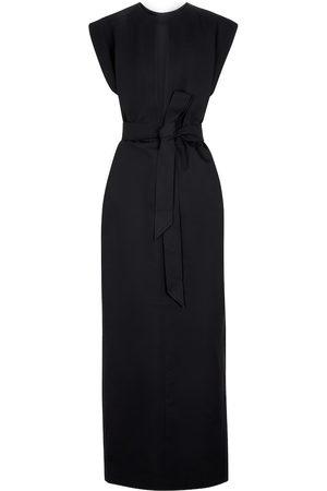 WARDROBE.NYC Cotton and silk kaftan maxi dress
