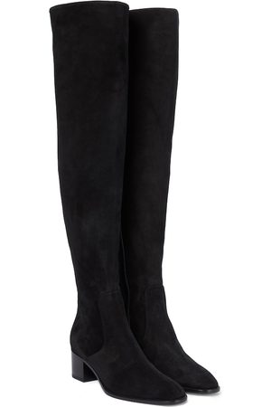 Christian Louboutin Gazzellou suede over-the-knee boots