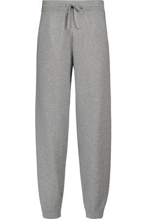 Isabel Marant Kobieta Spodnie dresowe - Kira cotton and wool-blend sweatpants