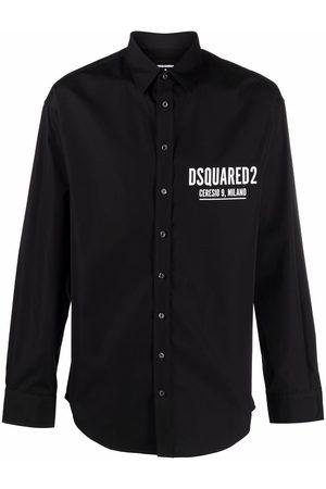 Dsquared2 Mężczyzna Koszule - Black