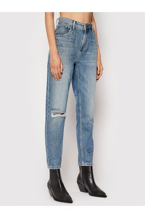 Pepe Jeans Jeansy Violet Scribble PL204138 Relaxed Fit
