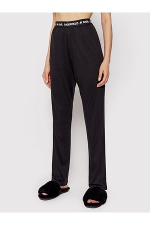 Karl Lagerfeld Spodnie piżamowe Logo 215W2182