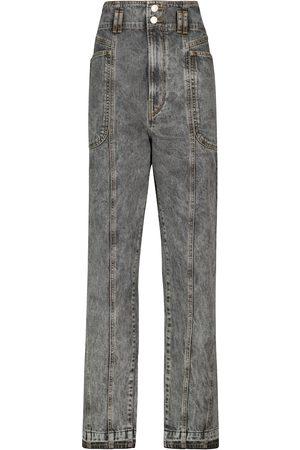 Isabel Marant, Étoile Kobieta Z wysokim stanem - Tess high-rise straight jeans