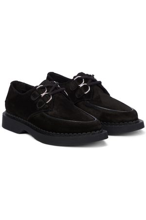 Saint Laurent Anthiny suede loafers