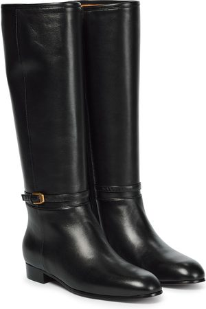 Gucci Knee-high leather boots