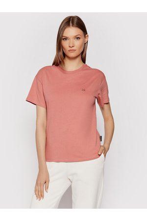 Napapijri Kobieta Z krótkim rękawem - T-Shirt Salis Ss W 2 NP0A4FSL Regular Fit