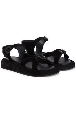 The Row Geri suede sandals