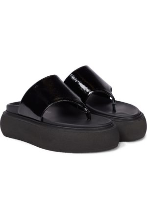 The Attico Selene leather thong sandals