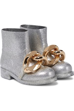 JW Anderson Chain glitter ankle boots