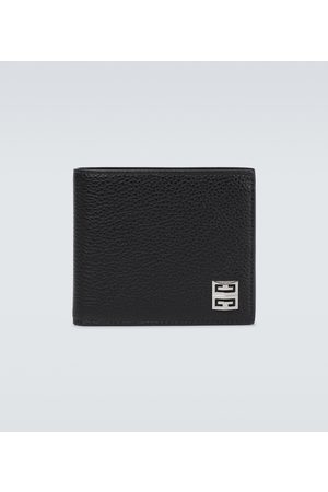 Givenchy 4G grained leather bifold wallet