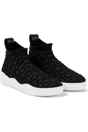 Alaïa Stretch-knit sneakers