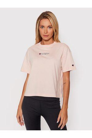 Champion T-Shirt Script Logo 114474 Regular Fit