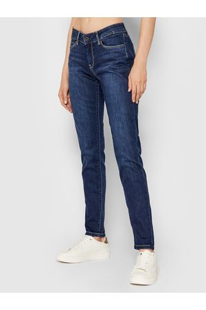 Pepe Jeans Jeansy Soho PL201040 Granatowy Skinny Fit