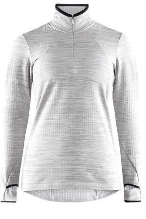 Craft Kobieta Bluzy - Bluza damska Grid Halfzip, szara