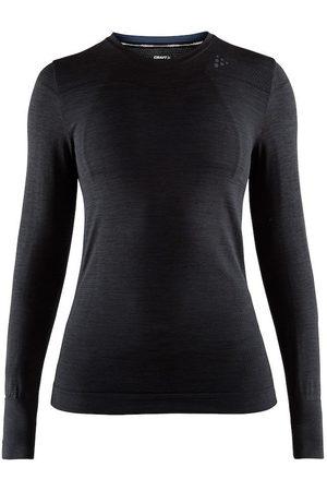 Craft Koszulka termoaktywna damska Fuseknit Comfort RN LS W - Czarna
