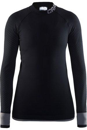 Craft Kobieta Z krótkim rękawem - Koszulka termoaktywna damska Warm Intensity CN LS - Czarna