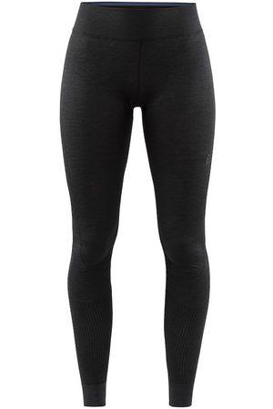 Craft Legginsy termoaktywne damskie Fuseknit Comfort Pants - Czarne
