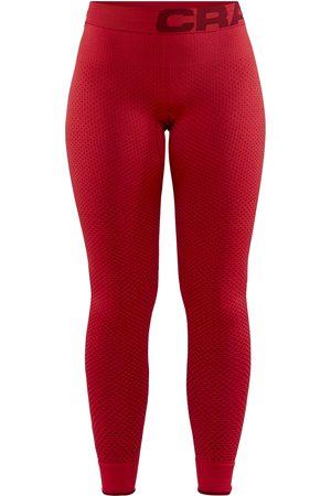 Craft Legginsy termoaktywne damskie Warm Intensity Pants - Czerwone